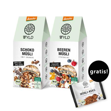 WYLD Frühstücksset + Gratis Müsli Keks