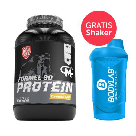 Mammut Formel 90 Protein (3000g) + Bodylab 24 Shaker gratis