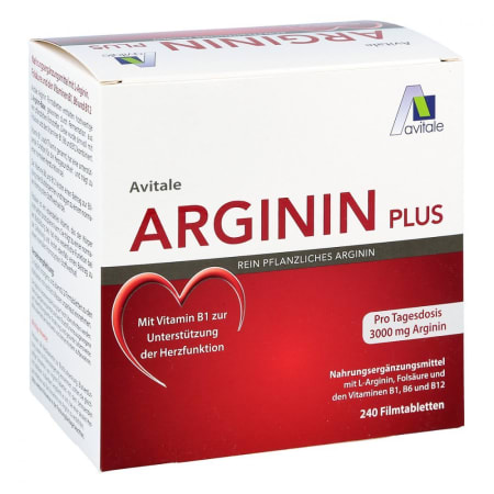 Arginin plus 3000mg (240 Tabletten)