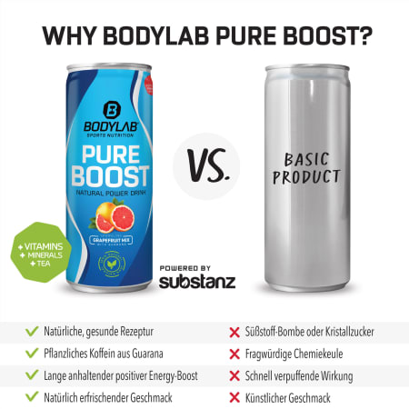 12 x Pure Boost (by substanz®) (12x250ml)