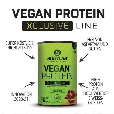 Vegan Protein XCLUSIVE Line (750g)