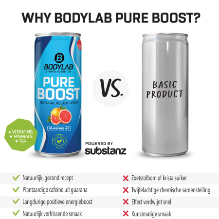 Pure Boost (by substanz®) (24x250ml)