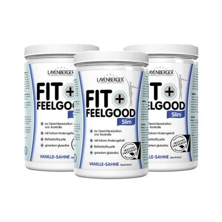 3 x Fit+Feelgood Mahlzeitersatz SLIM (3x430g)