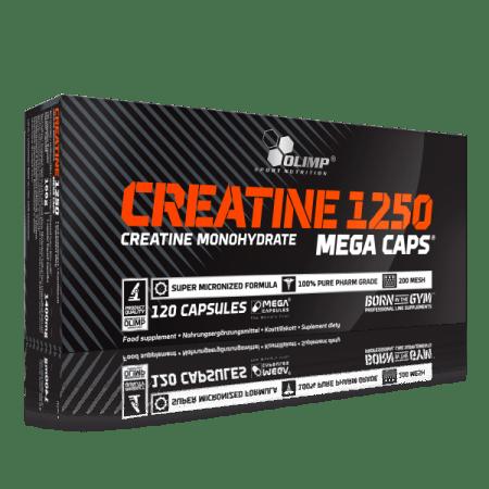 Creatine Mega caps 1250 (120 caps)