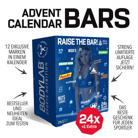 Bodylab24 Riegel Adventskalender