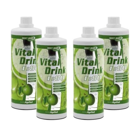 4 x Vital Drink Konzentrat (4x1000ml)