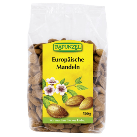 Europäische Mandeln bio (500g)