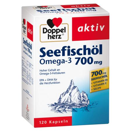 Seefischoel Omega-3 700mg (120 Kapseln)