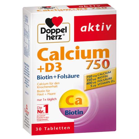 Calcium 900 + D3 + Biotin (30 Tabletten)