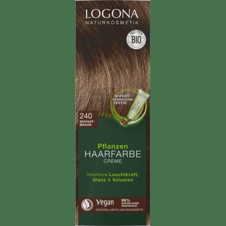 Pflanzen Haarfarbe Creme 240 nougatbraun (150ml)