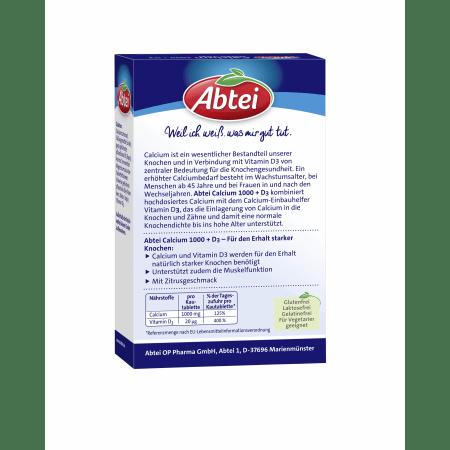 Calcium 1000 Plus D3 Osteo Vital Kautabletten (30 Tabletten)