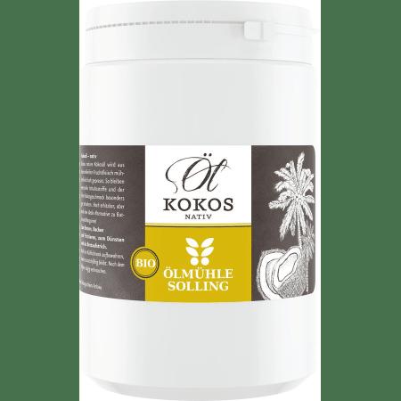 Bio Kokosöl nativ im PE-Becher (1000ml)