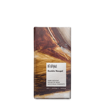 Schokolade Dunkle Nougat Schokolade bio (100g)