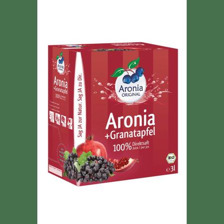 Aronia-Granatapfelsaft 100% Direktsaft bio (3000ml)