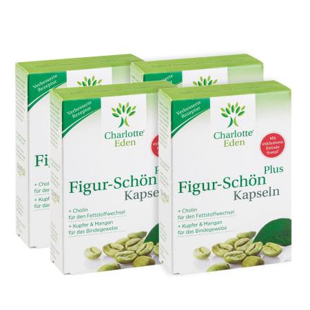 4 x Figur-Schön Plus (4x30 Kapseln)