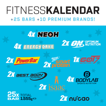 Bodylab24 Riegel Adventskalender
