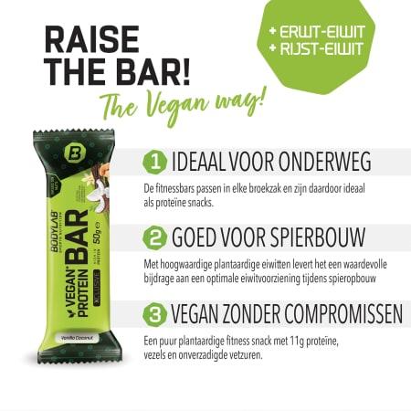 Protein Bar (veganistisch) XCLUSIVE Line (12x50g)