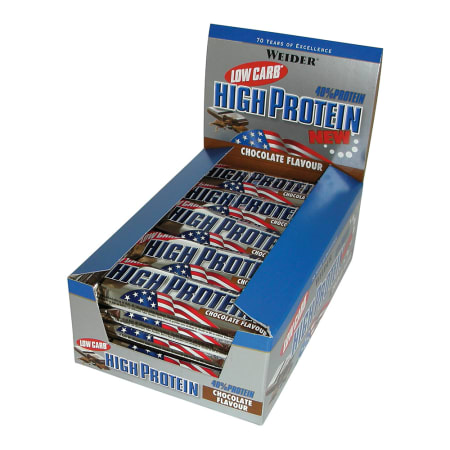 40% Low Carb High Protein Bar (24x50g)