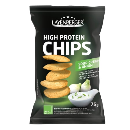 4 x LowCarb.one High Protein Chips (4x75g)
