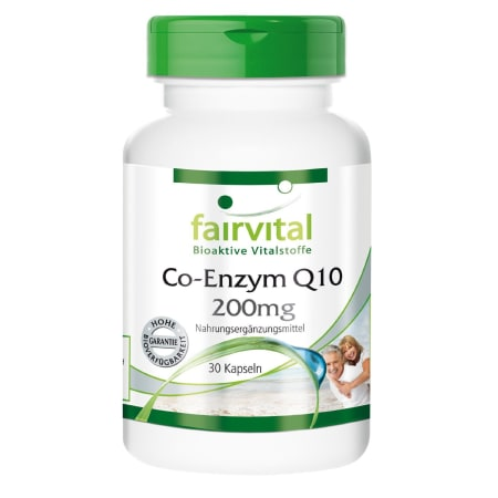 Co-Enzym Q10 200mg (30 Kapseln)