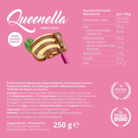 Queenella Swirly Duo (250g)