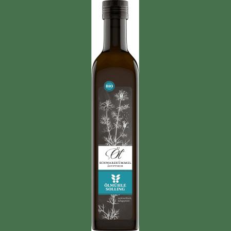 Bio Schwarzkümmelöl nativ ägyptisch (500ml)
