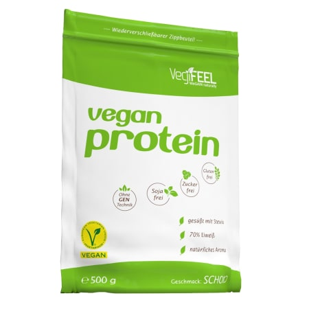 Vegan Protein Chocolate (500g)