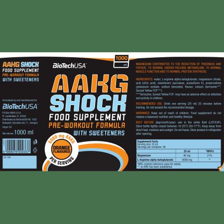 AAKG Shock Extreme (1000ml)