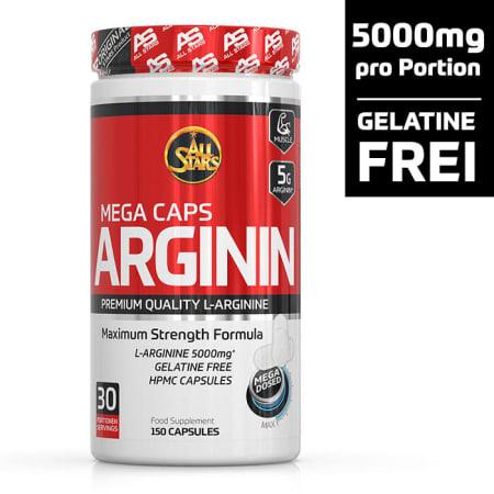 Mega Caps arginine (150 capsules)