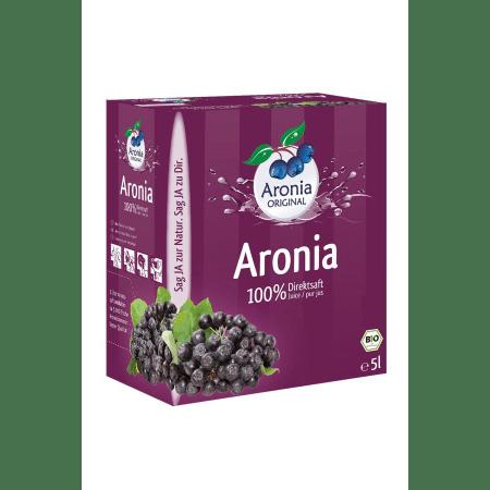 Aronia 100% Direktsaft bio (5000ml)