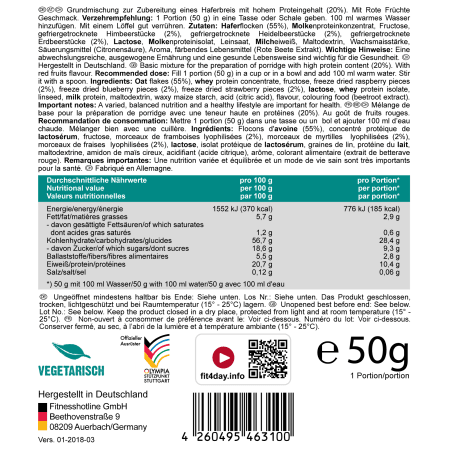 Protein Porridge (15x50g)