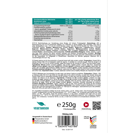 Protein Brot (8x250g)