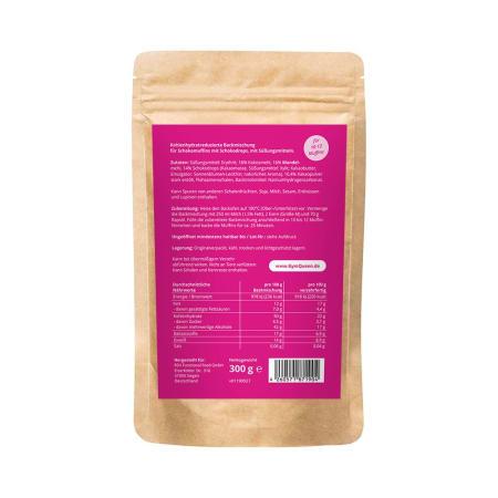 Kohlenhydratreduzierte Schokomuffin Backmischung (300g)