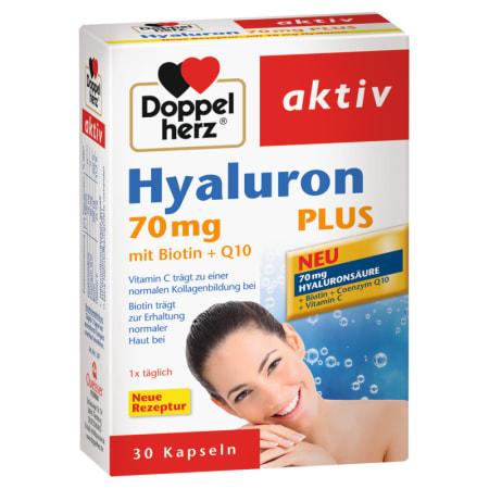 Hyaluronsäure 70 mg plus (30 Kapseln)