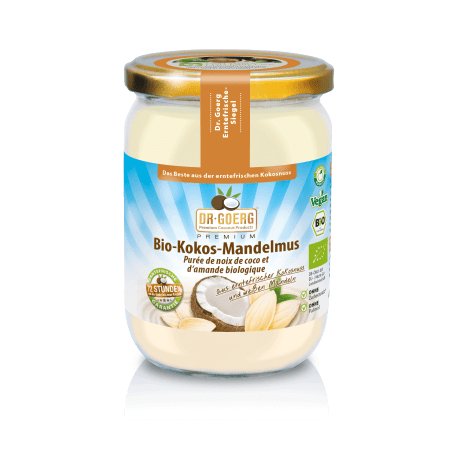 Premium Organic-Coconut-Almondbutter (500g)