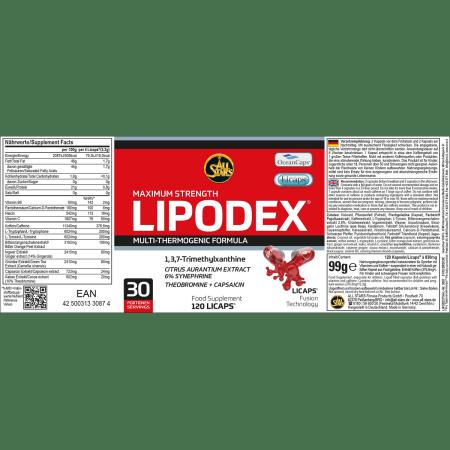 Lipodex (120 capsules)