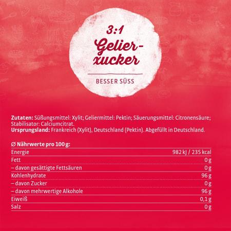 Gelier-Xucker 3:1 (1000g)