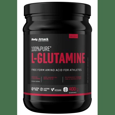 100% Pure L-Glutamin (400g)