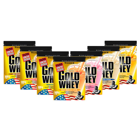 7 x Gold Whey Protein Mixed (7x500g)