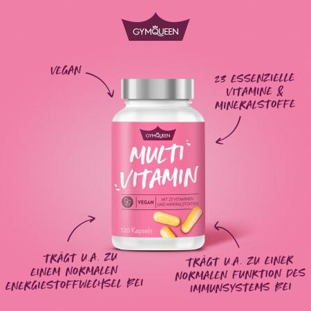 Vegan Multivitamin (120 Kapseln)