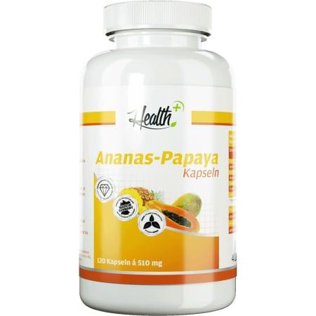 Health+ Ananas-Papaya-Enzyme (120 Kapseln)