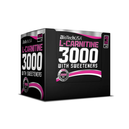 L-Carnitine Ampulle 3000 (20x25ml)