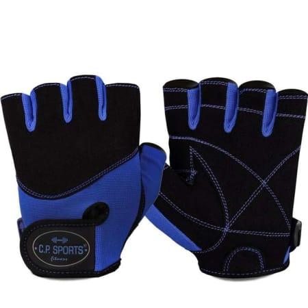 Iron-Handschuh Komfort Blau