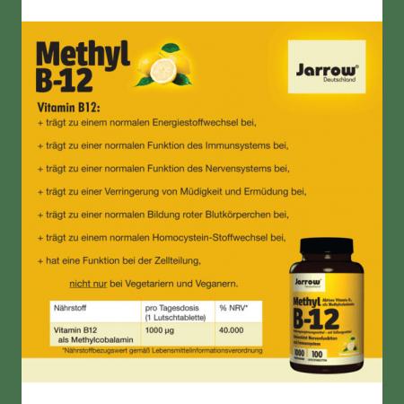 Methyl B12 1000µg (100 Lutschtabletten)