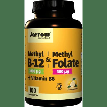Methyl B-12 + Methyl Folate + Vitamin B6 (100 Lutschtabletten)