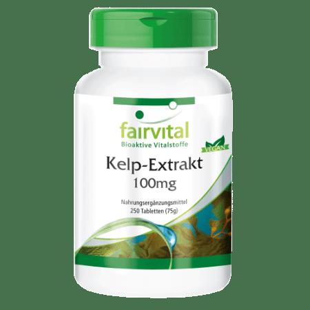 Kelp-Extrakt 100mg (250 Tabletten)