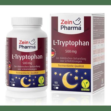 L-tryptofaan 500mg (90 capsules)
