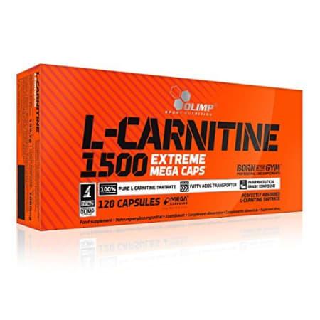 L-Carnitine 1500 Extreme Mega Caps (120 Kapseln)