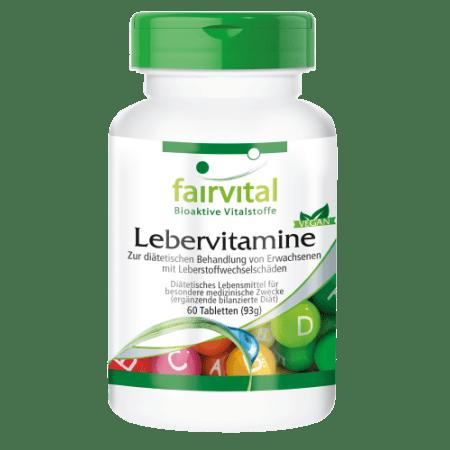 Lebervitamine (60 Tabletten)