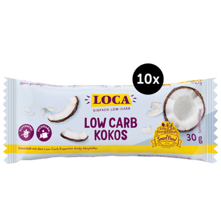 Low Carb Riegel (10x30g)